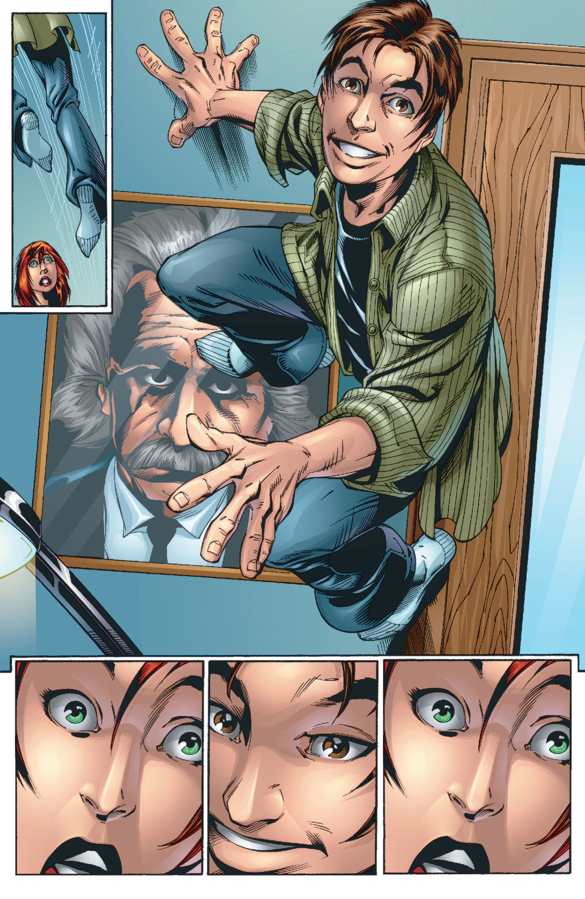 Read online Ultimate Spider-Man (2000) comic -  Issue #13 - 8
