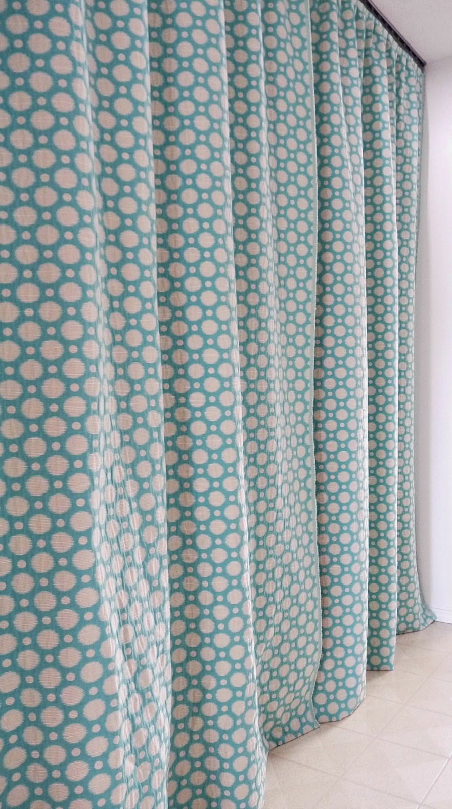 Gathered curtain sewing tutorial
