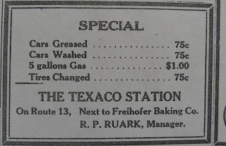 Delmar Historical And Art Society: The Texaco Station