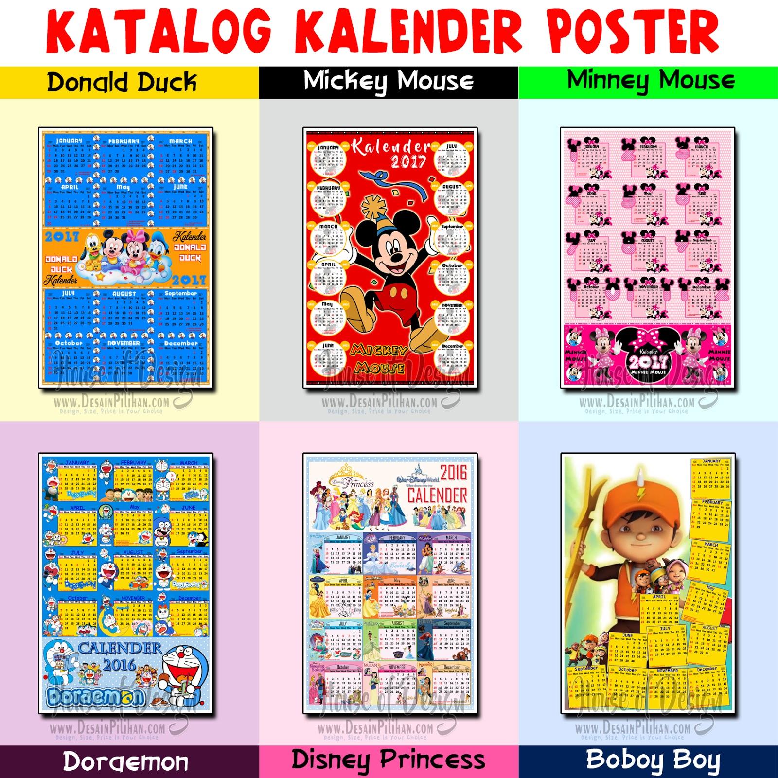 jual kalender murah, design calendar, katalog kalender terbaru