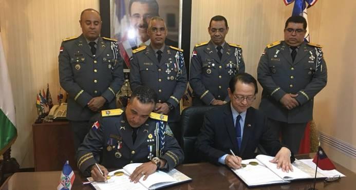 La Policía de Taiwán y la de República Dominicana firman acuerdo de cooperación en seguridad