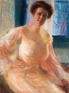 Giacomo Balla - Portrait of a Lady
