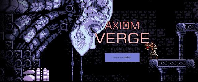 Jogo AXIOM VERGE grátis na Epic Store