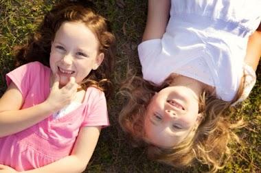 Hạnh phúc của gia đình có 2 con gái