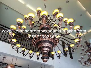 Lampu Tembaga | Kap Lampu Tembaga | Lampu Gantung | Lampu Hias | Aneka Kerajinan Lampu Tembaga
