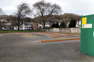 Crazy Golf in Porthmadog. Photo by Celine MacDonald-Matti, February 2019