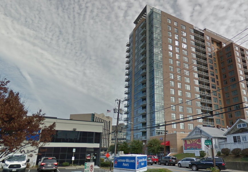 The Building Is Directly Across Auburn Avenue From Another Donohoe Property Gallery Bethesda Apartments R