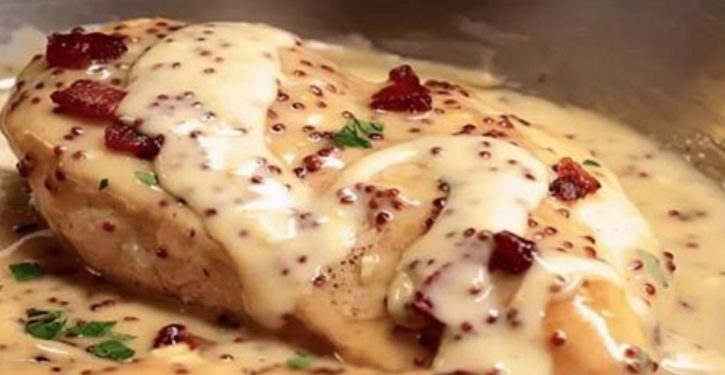 Creamy Chicken With Mustard And Honey And So Tasty