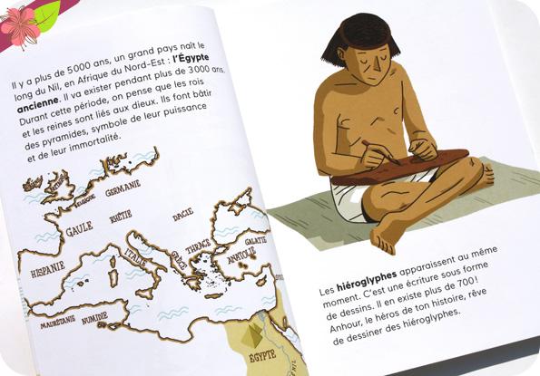 Anhour, petit scribe de Benoît Broyart et Vincent Sorel - Docs Benjamin - éditions Milan