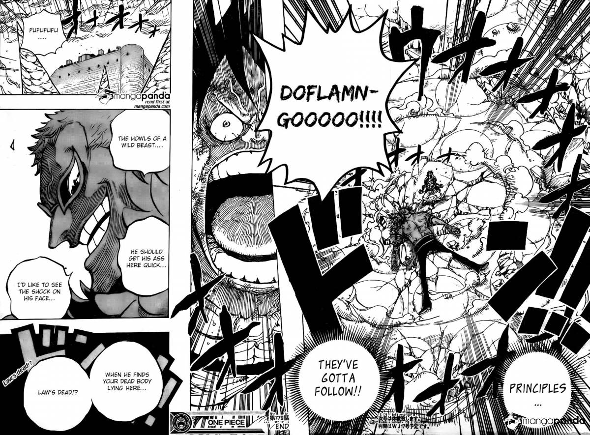 One Piece Ch 779: The Last Battle