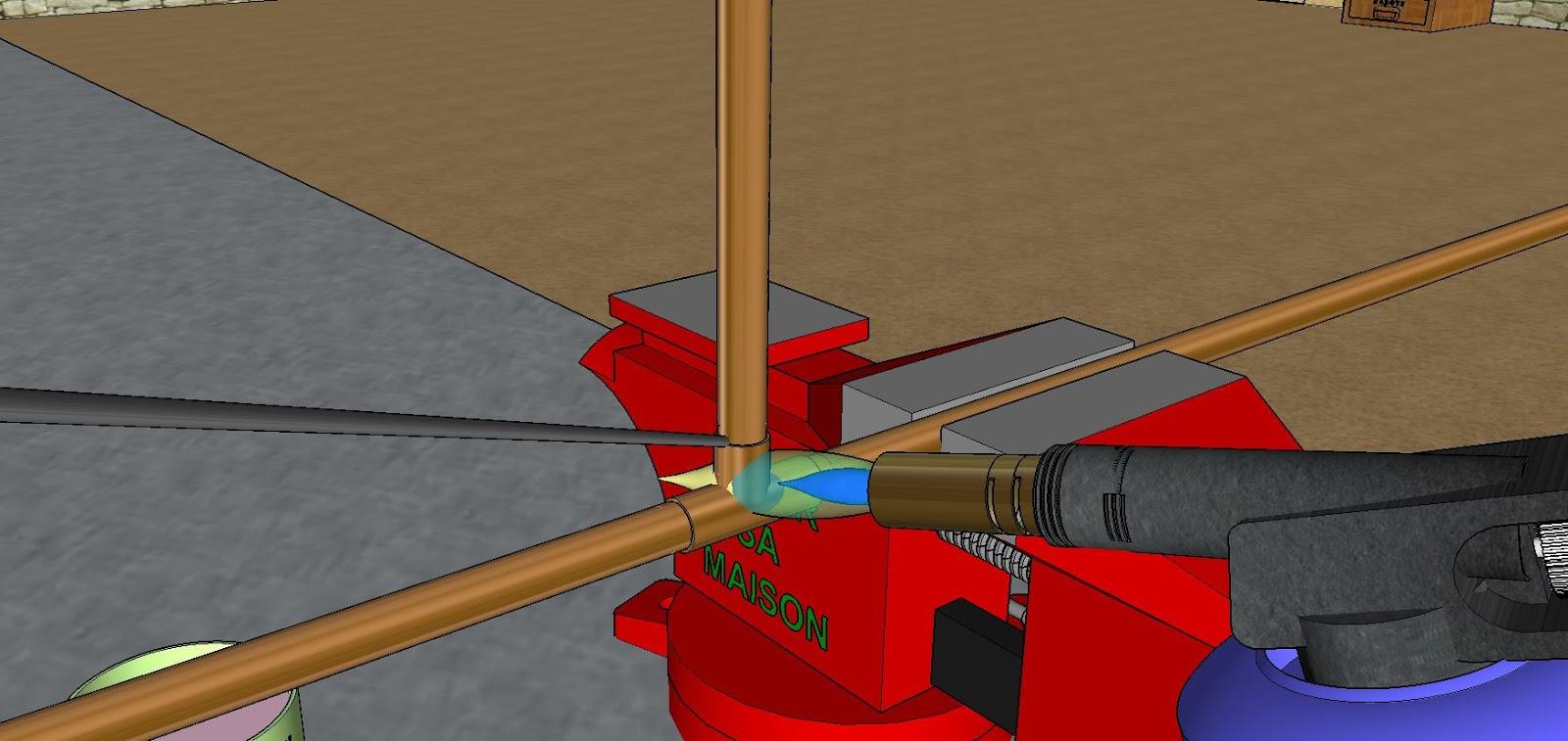 Plomberie comment faire la soudure - Comment faire une soudure a l etain ...