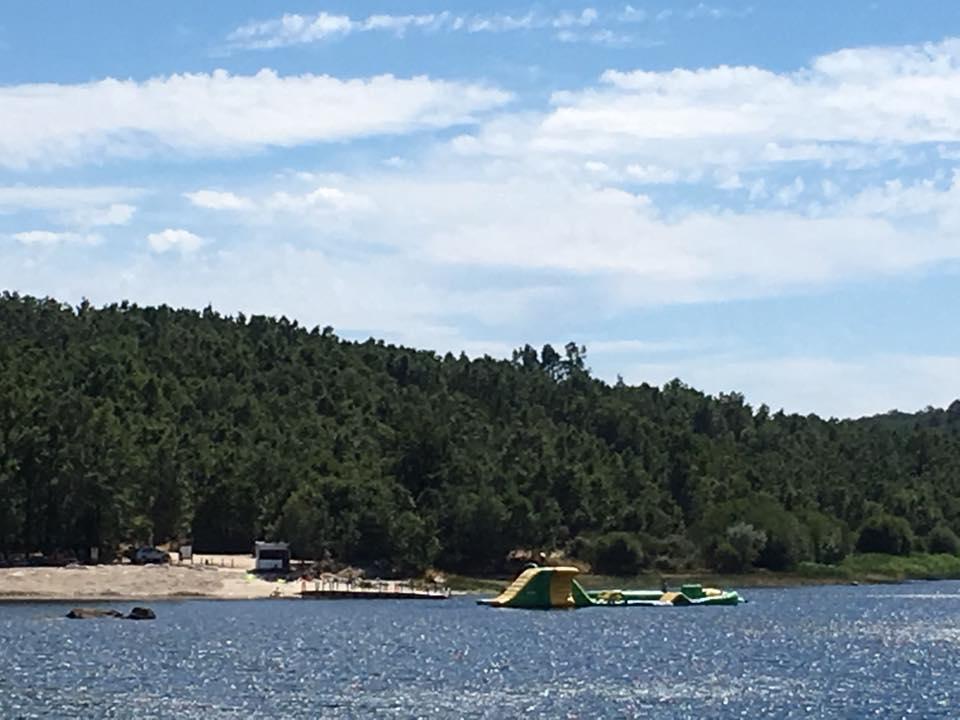 Praia Fluvial na Barragem de Alfaiates