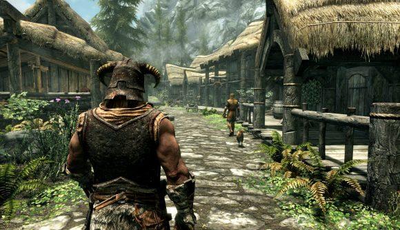 The Elder's Scroll Skyrim-(2011):