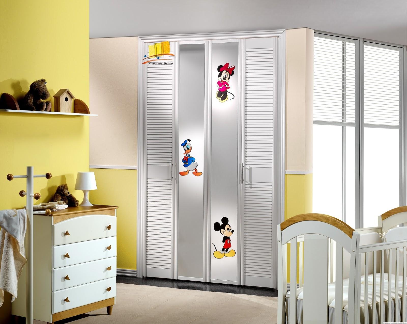 Armarios infantiles y su interior ch decora puertas cocinas y armarios en madrid - Armarios infantiles originales ...