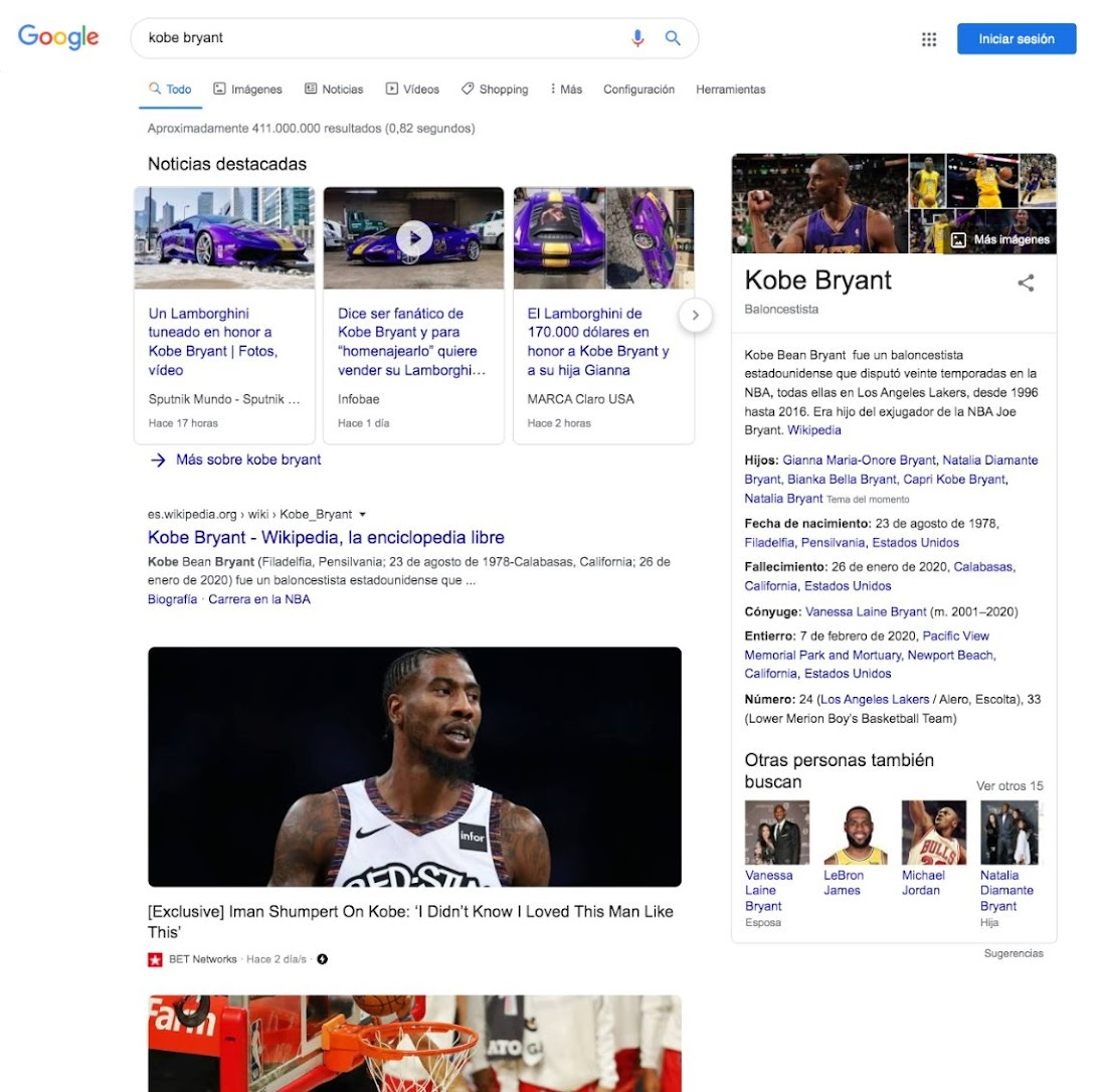 Google is experimenting with larger images in Search Results