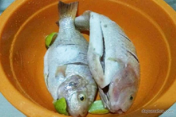 bumbu rujak ikan mujair