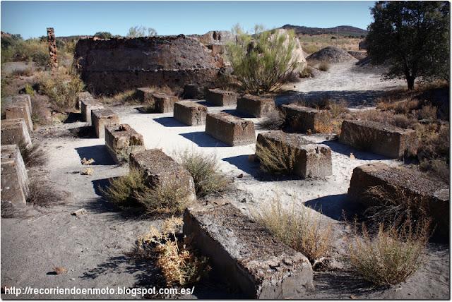 antiguo horno minas de S. Quintín