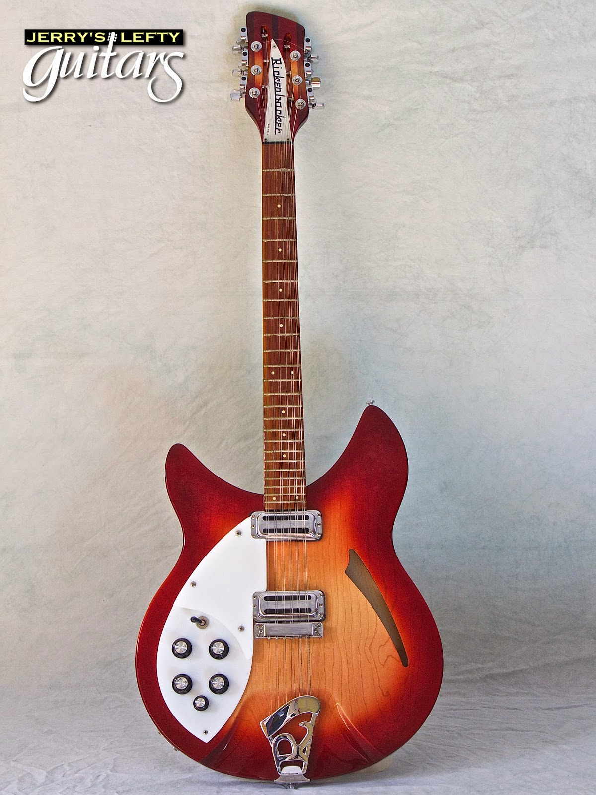 jerry 39 s lefty guitars newest guitar arrivals updated weekly 1991 rickenbacker 330 12 fireglow. Black Bedroom Furniture Sets. Home Design Ideas