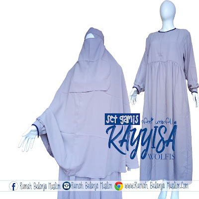 Gamis Babydoll Kayyisa Abu Muda WOlfis