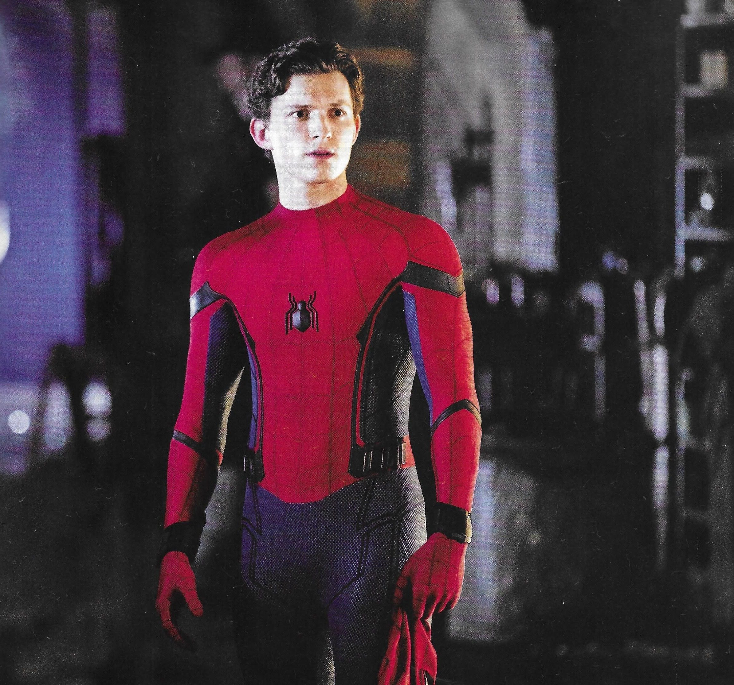 Spider-Man Far From Home : 歴史的大ヒット作「アベンジャーズ : エンドゲーム」後の少年ヒーローの成長を描く続編「スパイダーマン : ファー・フロム・ホーム」の新しい写真 ! !