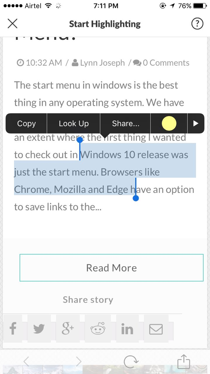 Pages color highlight - But In The Case Of The Chrome Extension Whenever You Want To Highlight Text In Any Webpage You Select The Required Text Click On The Liner Extension