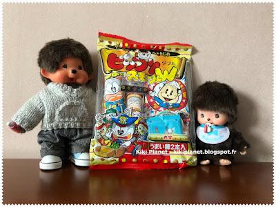 kiki, monchhichi, bebichhichi, mcc, bonbons japonais, snacks japonais, asiatique