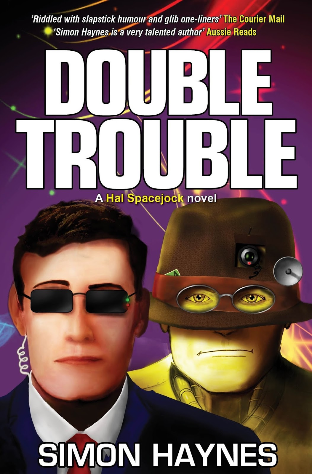 Speculative Fiction Showcase: Double Trouble (Hal Spacejock, Book 8