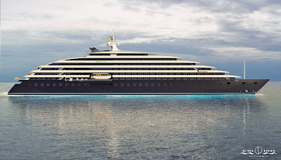 Scenic Cruises New Luxury Yacht Scenic Eclipse - Construction has Officially Begun.