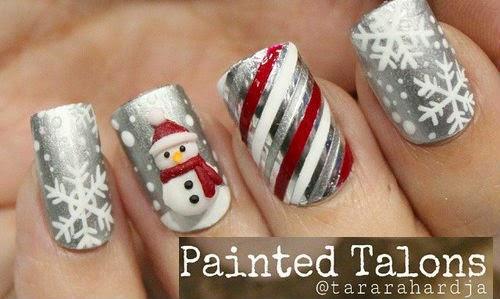 Lindisima Blog Uñas Decoradas Para Navidad 1