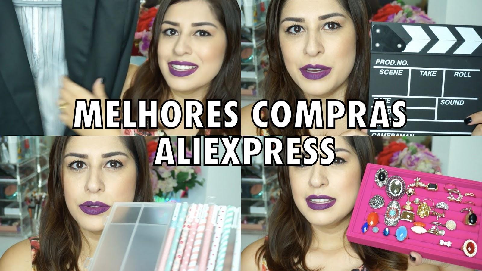 6c57507662 Jessica Make  Minhas Melhores Compras do Aliexpress