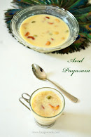 Aval Payasam Recipe(with Jaggery)/Poha Payasam/Rice Flakes Payasam