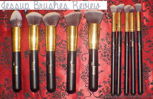 2a5636b2d4b0 My Precious Little World: Jessup Brushes Review