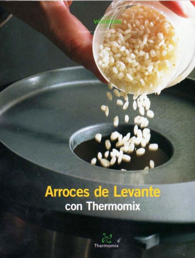 Arroces del levante con Thermomix