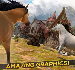 Free Wild Horses Simulator