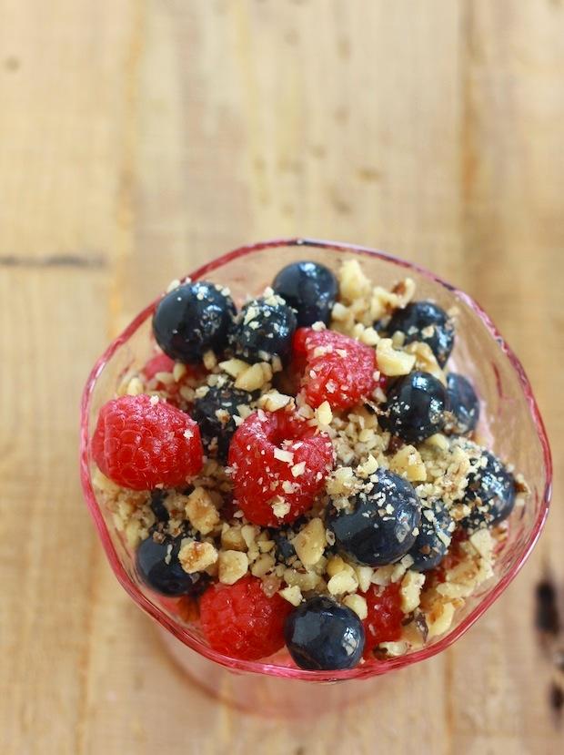 Greek yogurt parfait recipe by Season with Spice
