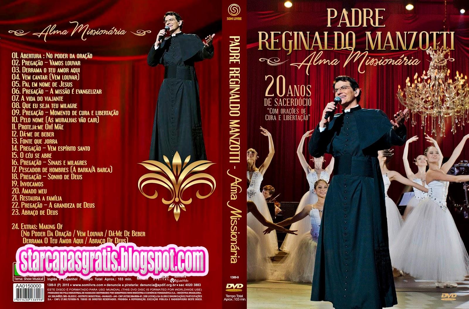 Padre Reginaldo Manzotti Alma Missionaria DVD-R Padre 2BReginaldo 2BManzotti 2B  2BAlma 2BMissionaria