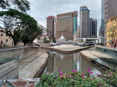 pertembungan sungai Klang dengan sungai Gombak