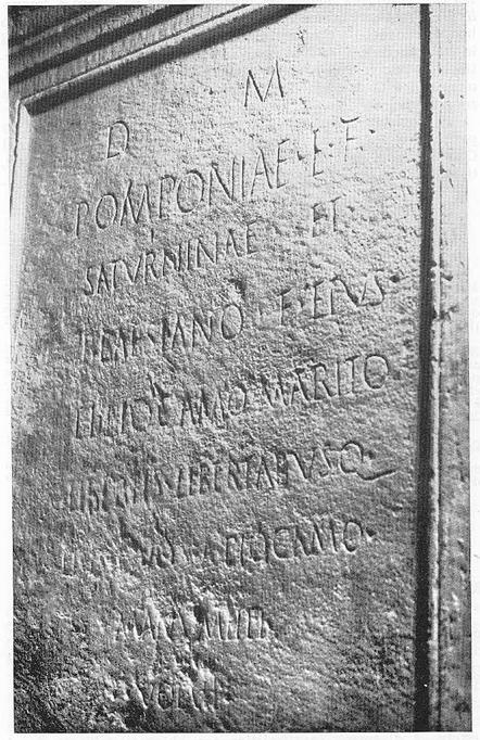 Epigrafe roamana trovata nel Restauro della Chiesa di Polvica 4aba0fb8378a