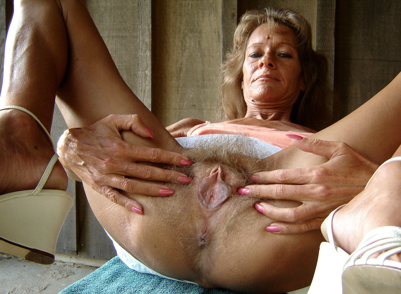 having sex with an old lady