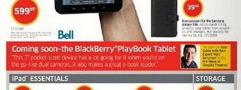 Bell BlackBerry PlayBook tablet coming to Canada