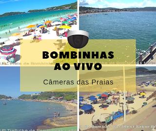 Câmeras ao vivo de Bombinhas