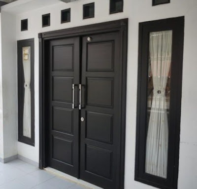 A unique door design houses and luxury
