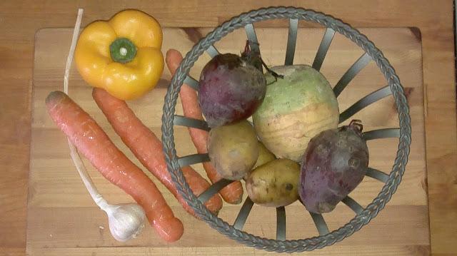 ruokaohje kasviksista