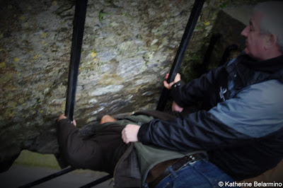 Kissing the Blarney Stone Irish Castles Ireland Road Trip
