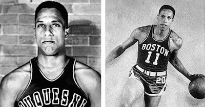Chuck Cooper, first Black player to be drafted in the NBA