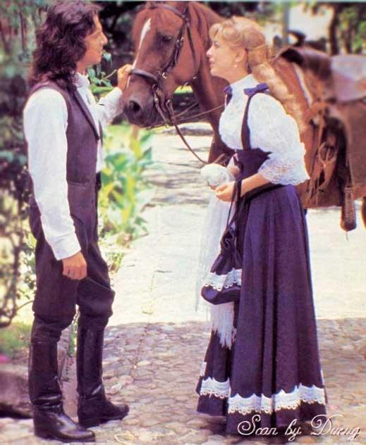 João del Diablo e Mônica cena