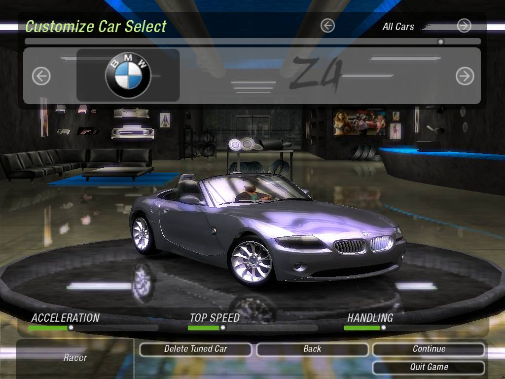 Nfs Underground 2 Mods Bmw Z4 Roadster