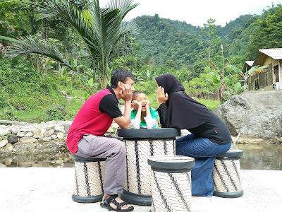 Liburan keluarga Cipanas Karang Endah Ciasmara Bogor
