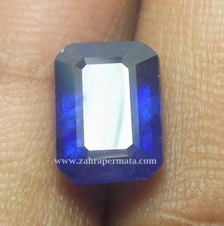 Batu Permata Blue Safir - ZP 418