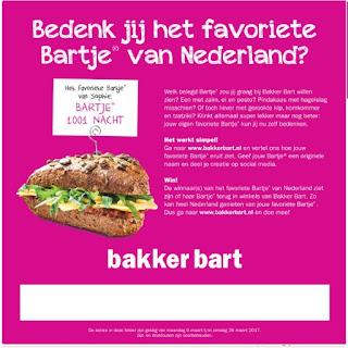 Bakker Bart Folder Week 10, 6 – 26 Maart 2017